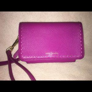 Vera Bradley Leather RFID Wallet Wristlet